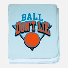 Ball Dont Lie baby blanket