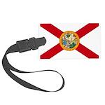 Flag of Florida Large Luggage Tag