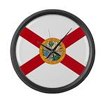 Flag of Florida Large Wall Clock
