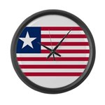 Flag of Florida 1861 unofficial Large Wall Clock