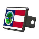 Flag of Florida 1861 Rectangular Hitch Cover