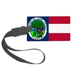 Flag of Florida 1861 Large Luggage Tag