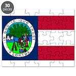 Flag of Florida 1861 Puzzle