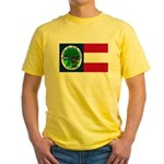 Flag of Florida 1861 Yellow T-Shirt