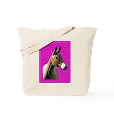 Pink mule head Tote Bag