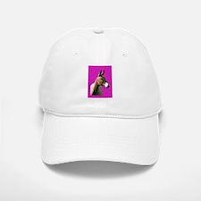 Pink mule head Cap