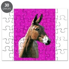 Pink mule head Puzzle