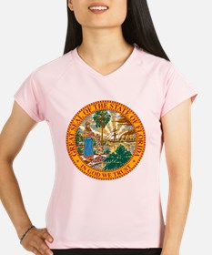 Great Seal of Florida Performance Dry T-Shirt