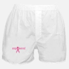 Breast Cancer Awareness Boxer Shorts