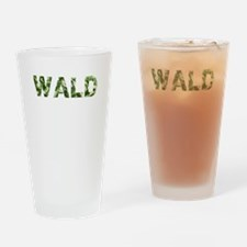 Wald, Vintage Camo, Drinking Glass