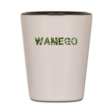 Wamego, Vintage Camo, Shot Glass