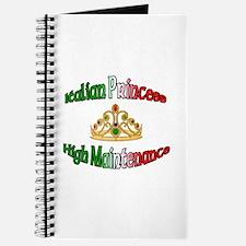 Italian Princess High Maintenance Journal