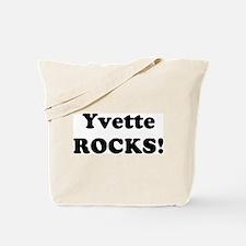 Yvette Rocks! Tote Bag
