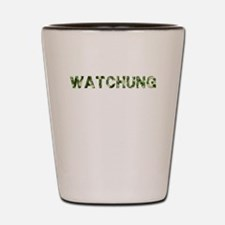 Watchung, Vintage Camo, Shot Glass