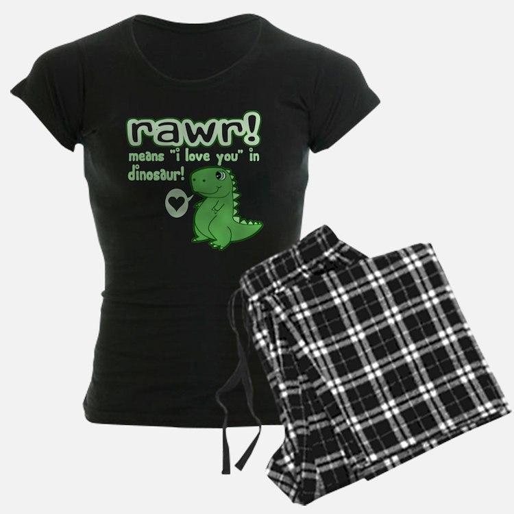 Cute! RAWR Means Love Pajamas