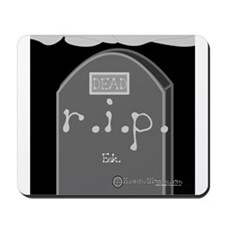 Tombstone Mousepad
