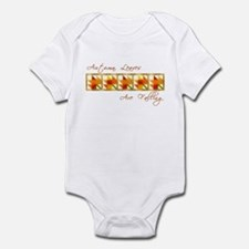 Autumn Leaves Are Falling Infant Bodysuit