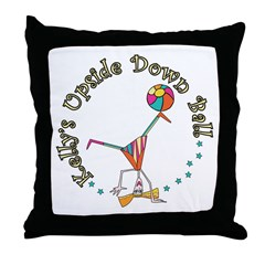 Kelly's Upside Down Ball Throw Pillow