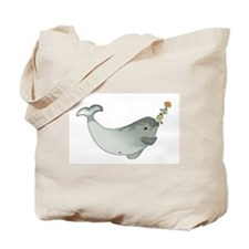 Christmas Narwhal Tote Bag
