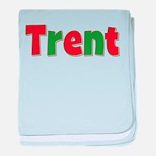 Trent Christmas baby blanket