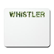 Whistler, Vintage Camo, Mousepad