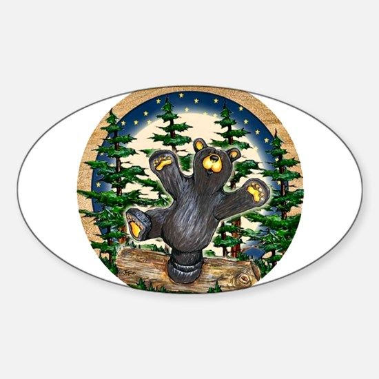 Bear Best Seller Sticker (Oval)
