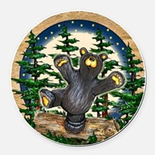 Bear Best Seller Round Car Magnet