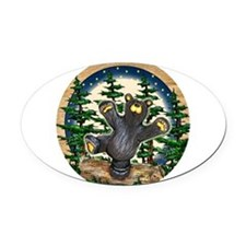 Bear Best Seller Oval Car Magnet