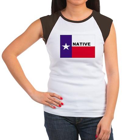 Texas Native Women's Cap Sleeve T-Shirt