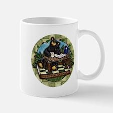 Coffee Drinking Bear Mug
