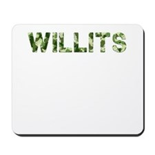 Willits, Vintage Camo, Mousepad