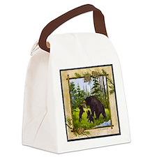 Best Seller Bear Canvas Lunch Bag