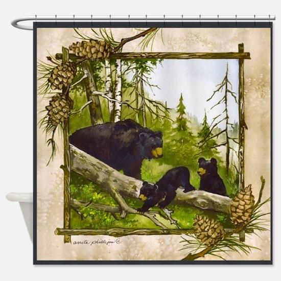 Best Seller Bear Shower Curtain