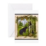 Black bear Stationery
