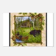 Best Seller Bear Postcards (Package of 8)