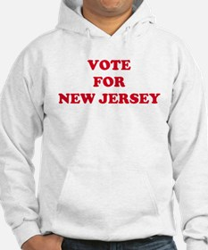 VOTE FOR NEW JERSEY Hoodie
