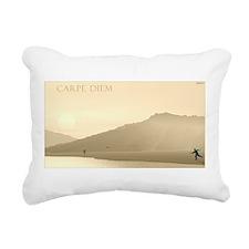 Carpe Diem Rectangular Canvas Pillow