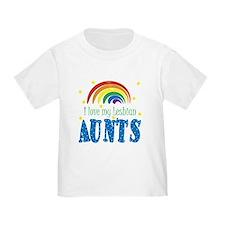 I love My Lesbian Aunts T-Shirt