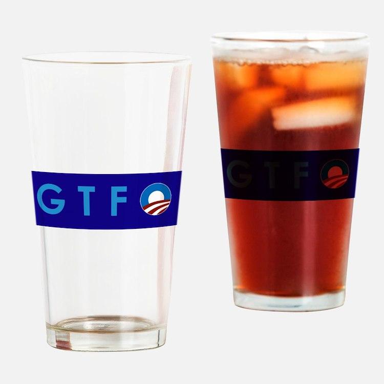 Obama GTFO Drinking Glass