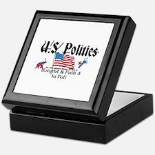 U.S. Politics Bought & Paid 4 In Full Keepsake Box
