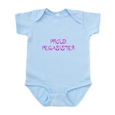 Proud Pegasister Infant Bodysuit