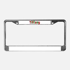 Tiffany Christmas License Plate Frame