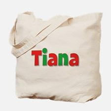 Tiana Christmas Tote Bag
