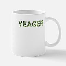 Yeager, Vintage Camo, Mug