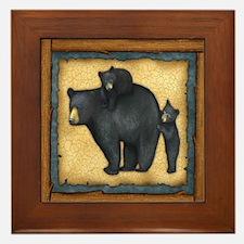Bear Best Seller Framed Tile