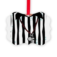Cute Football ref Ornament