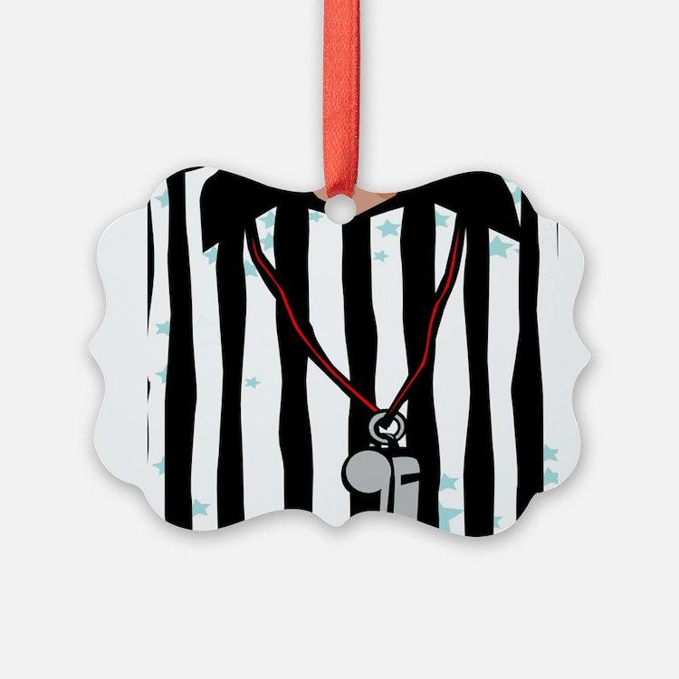 Cute Referee Ornament