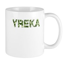 Yreka, Vintage Camo, Mug