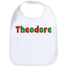 Theodore Christmas Bib