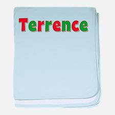 Terrence Christmas baby blanket